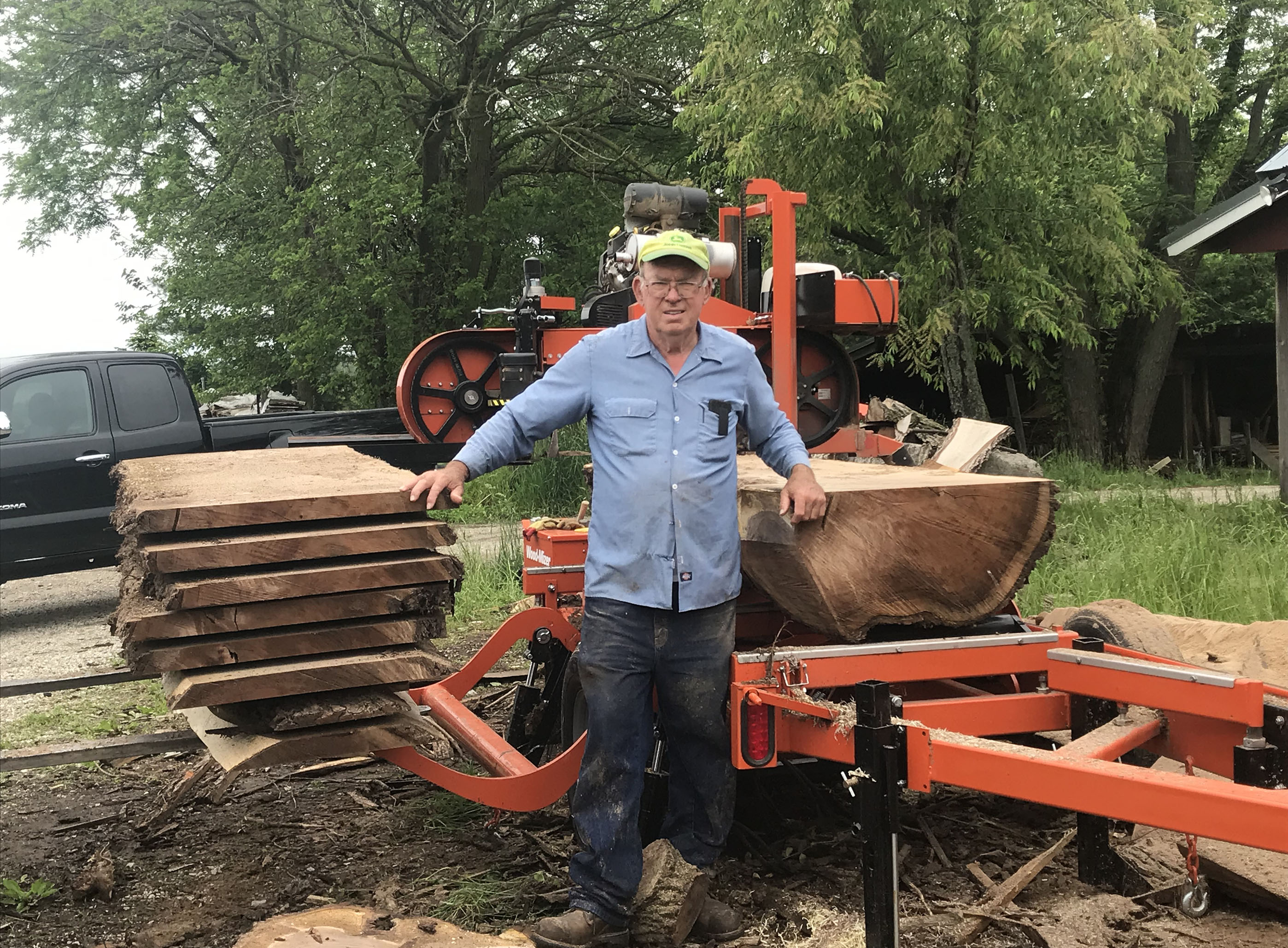 Indiana Lumber for Sale: Kiln Dried, Urban and Local Lumber, Live
